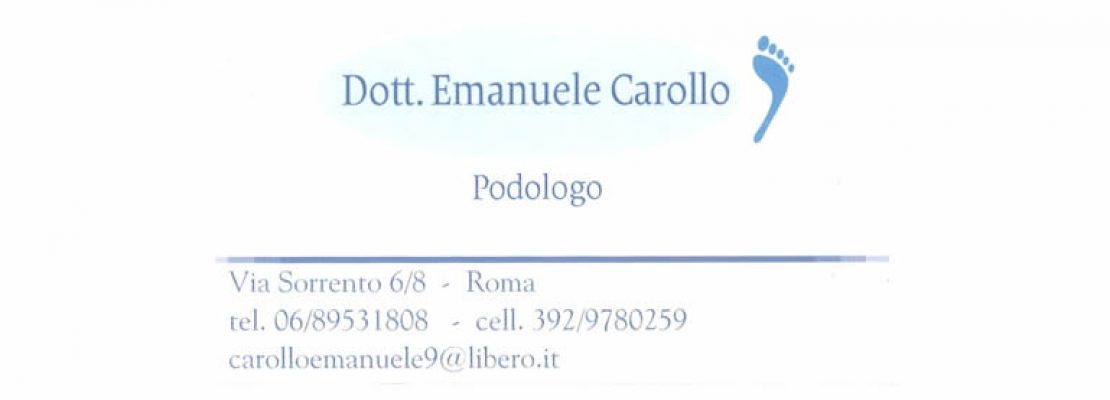 Dott. Emanuele Carollo